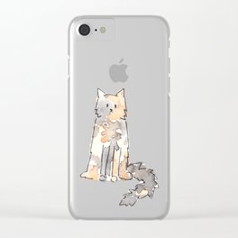 TABITHA Clear iPhone Case