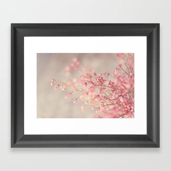 Coral Bells Framed Art Print