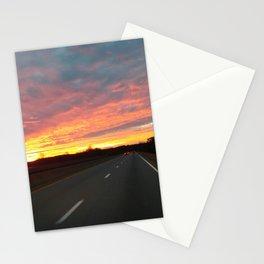 December Sunrise Stationery Cards
