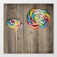 Life of a Lollipop Canvas Print