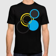 Dots Mens Fitted Tee Black SMALL