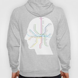 Subway map of mind and soul Hoody