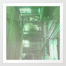 The Boiler Room Art Print