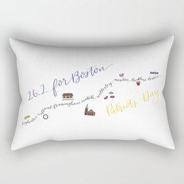 26.2 for Boston Rectangular Pillow
