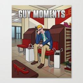 Shoe shopping Canvas Print