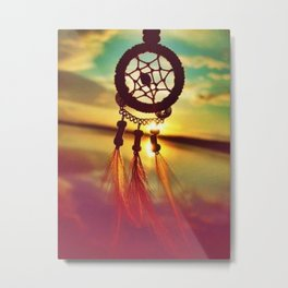 Dreamcatcher at Sunset Metal Print