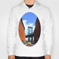 bridge Hoodies featuring Bridge by Brown Eyed Lady