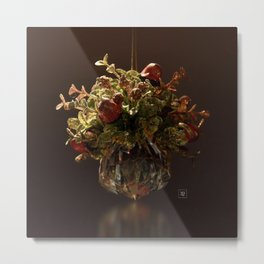 Crystal Mistletoe Metal Print