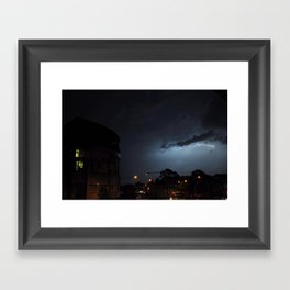 Storm Over Epsom Framed Art Print