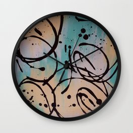 Curly Whirly Wall Clock