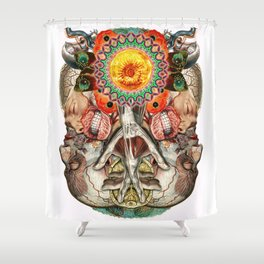 Losing the Human Form (Part 2) Shower Curtain