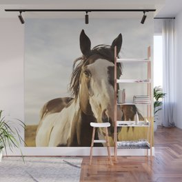 Western Paint Horse Wall Mural