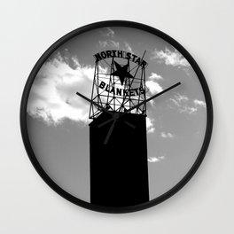 North Star Blankets Wall Clock
