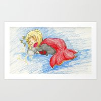 Thor: God of Slumber Art Print