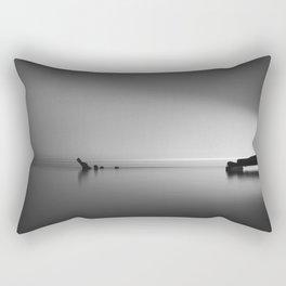 Fishing Dock, Galveston, TX Rectangular Pillow