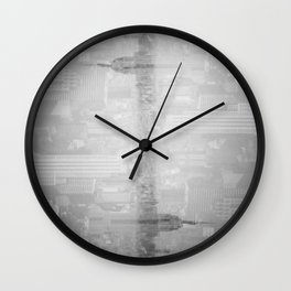 Empire State Double Take Wall Clock