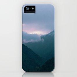 pnw mtn 2 iPhone Case
