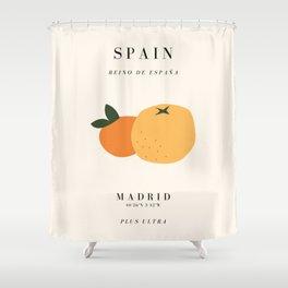 Spain Exhibition Shower Curtain