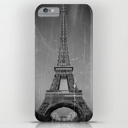 Vintage Eiffel Tower iPhone Case