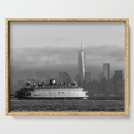 Ferry & Freedom Tower Serving Tray