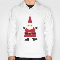 santa Hoodies featuring Santa by Claire Lordon