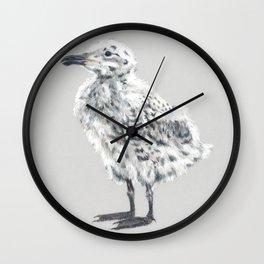 Herring Gull Chick Wall Clock