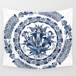 Jewel Mandala Wall Tapestry
