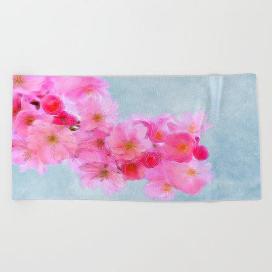 Cherry Blossom (in memory of Mackenzie) Beach Towel