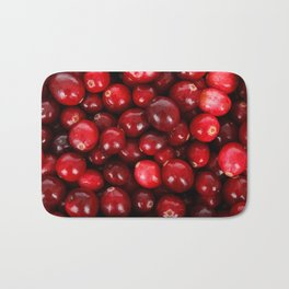 cranberries Bath Mat