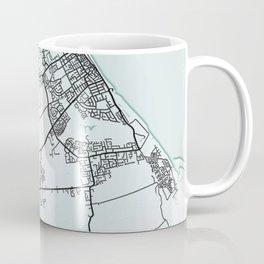 Grimsby, England, City Map Coffee Mug