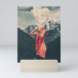 Overthinking Mini Art Print