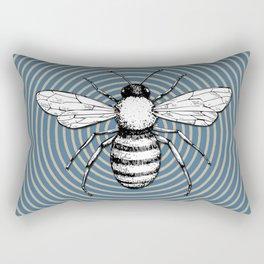 Pop Art  Bee Rectangular Pillow
