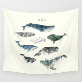 Whales Wall Tapestry