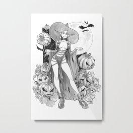 Devil Witch Metal Print