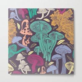 Delicious Autumn botanical poison Metal Print