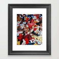 Rainbow Palette Framed Art Print