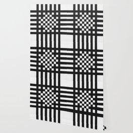 Interwoven Stripes Wallpaper