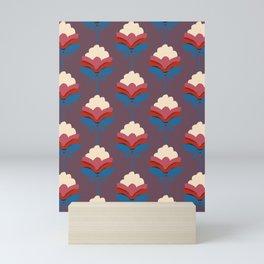 Retro fall florals- n. 2 Mini Art Print