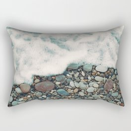 A Beautiful Spring Day at the Beach IV Rectangular Pillow