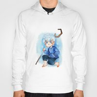 jack frost Hoodies featuring Jack Frost by cynamon
