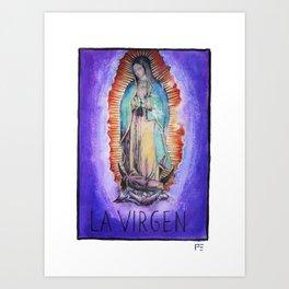 La Virgen Art Print