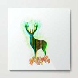 Deerskin Metal Print