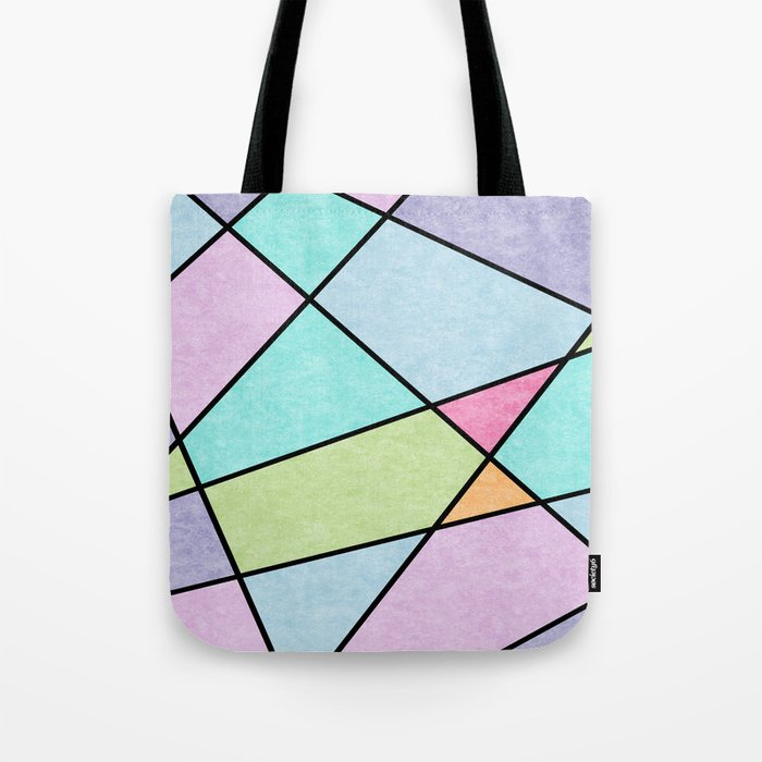 Frosted pastel Tote Bag