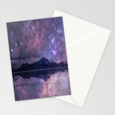 Space and time Stationery Cards