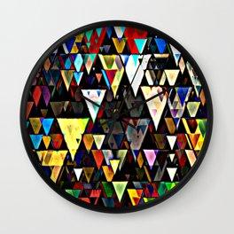 sharp down Wall Clock