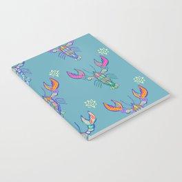 Boho Lobster Pattern Notebook