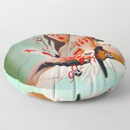 Lady Luck Floor Pillow