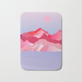 Pink Sun Blush Bath Mat