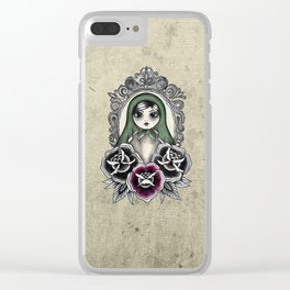 Freckled one Clear iPhone Case