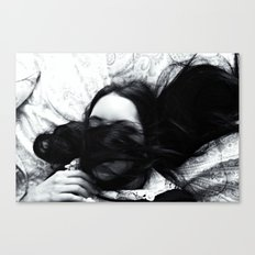 Hidden Thoughts  Canvas Print